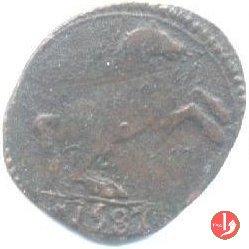 Sesino o bagattino col cavallo 1587 (Sabbioneta)