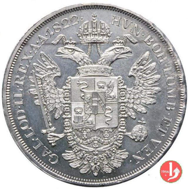 scudo nuovo da 6 lire 1822 (Vienna)