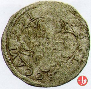 Soldo con stemma e croce mauriziana  (Pomponesco)