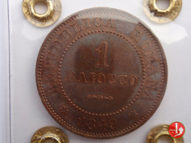 1 Baiocco 1849 (Roma)
