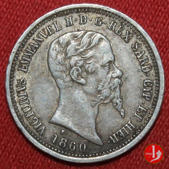 50 centesimi 1860 (Milano)