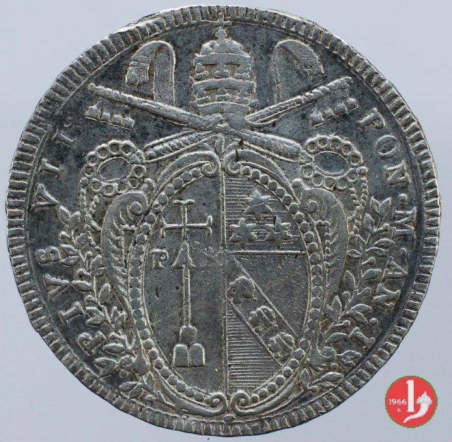 Scudo Romano del 1° tipo 1800 (Roma)