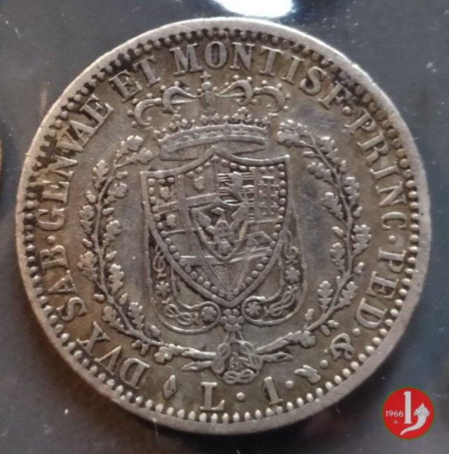 1 lira 1827 (Torino)