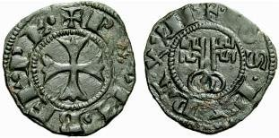 Denaro paparino 1316-1342 (Montefiascone)