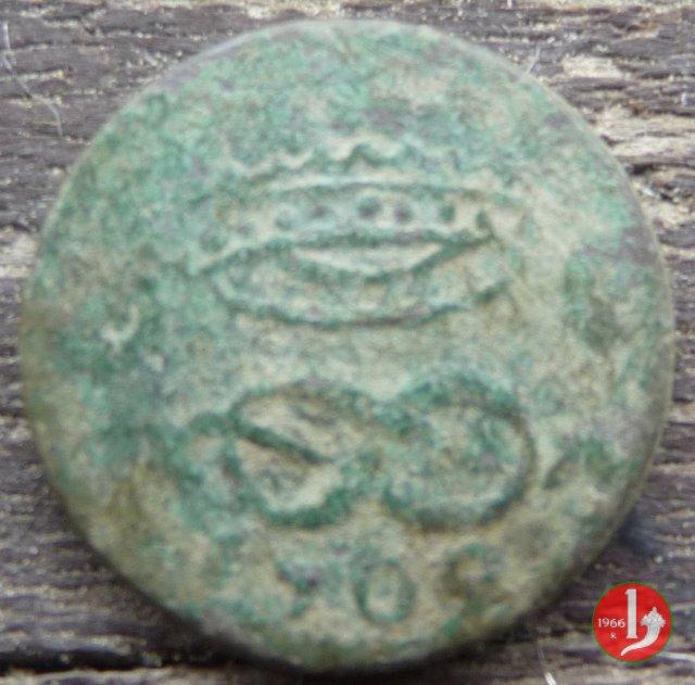 2 Denari II tipo 1709 (Torino)