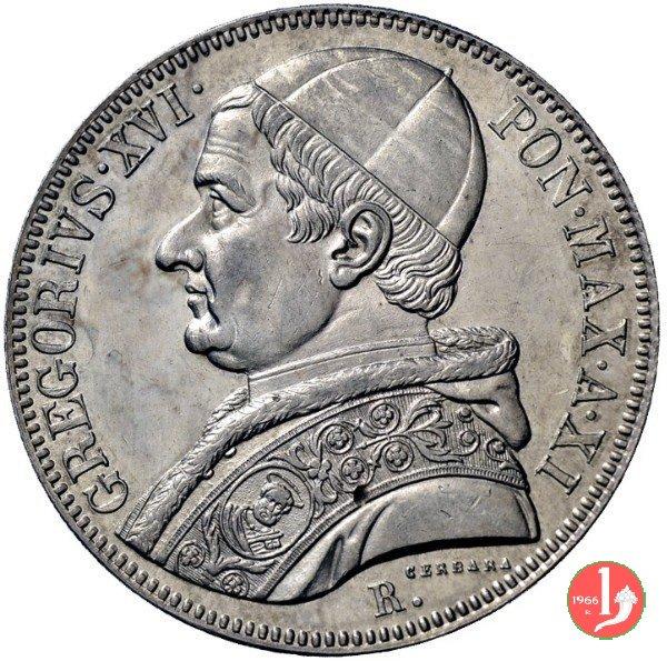 Scudo Romano 1842 (Roma)