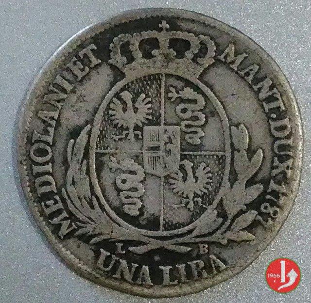 1 lira 1787 (Milano)