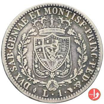 1 lira 1829 (Torino)