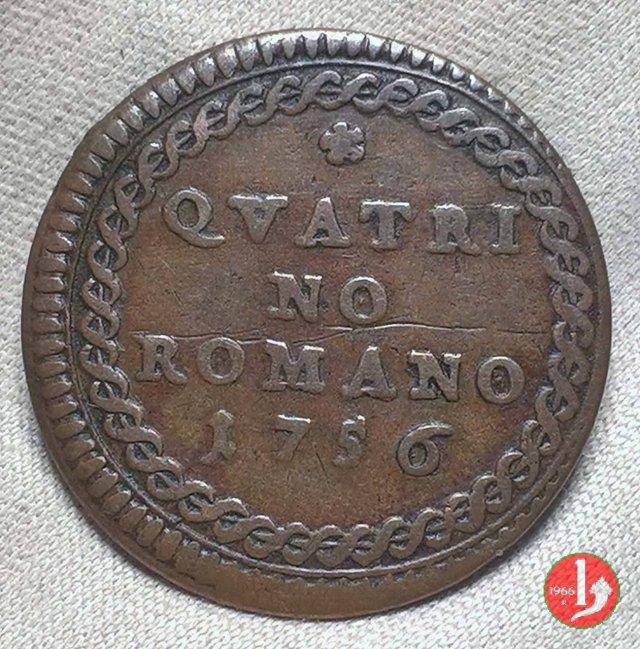 Quattrino 1756 (Roma)