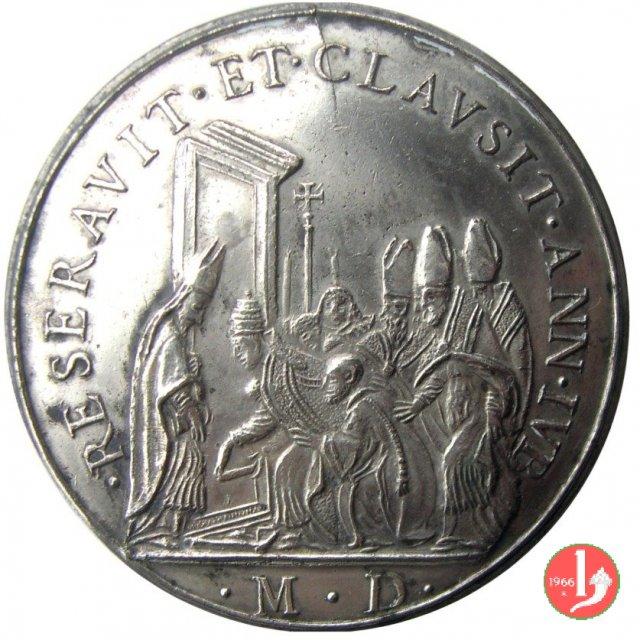 di restituzione- Chiusura Porta Santa -Mo175 1664