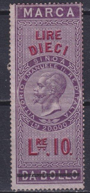 Marche da Bollo Lire 1866