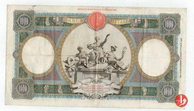 """1000 Lire Capranesi """"Repubbliche Marinare"""" 1930"""