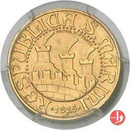 Prova 10 lire 1925 1925 (Roma)