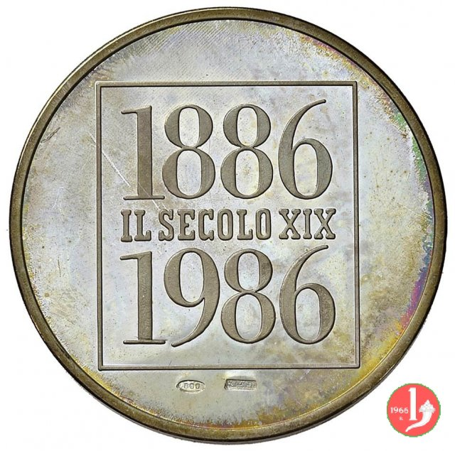 100° Il Secolo XIX 1986 1986