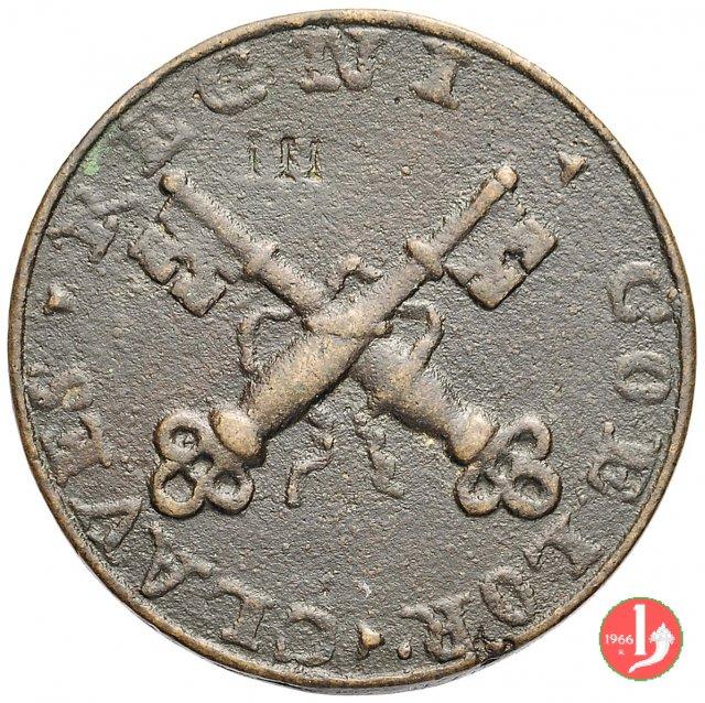 20b- Di restituzione - Chiavi decussate-L4 1720
