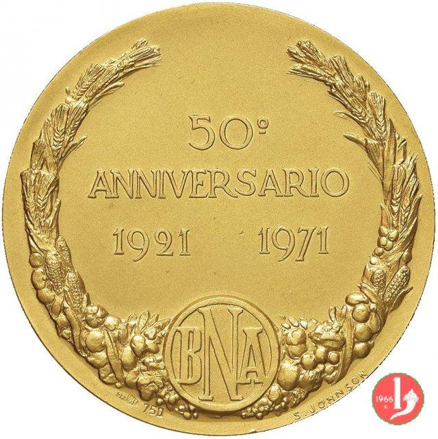 50° Banca Nazionale dell'Agricoltura 1971 1971