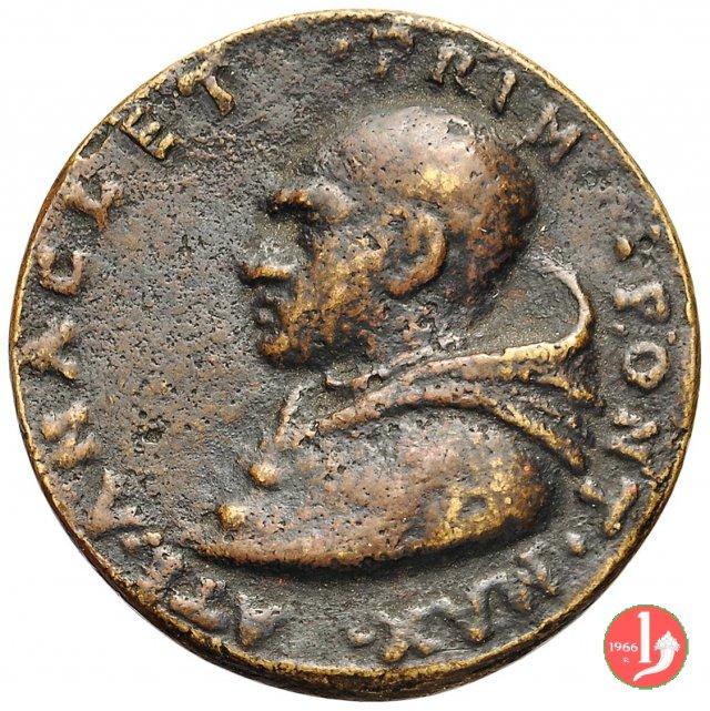 8- Di restituzione Triregno su chiavi A 1590