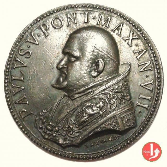 A . VII - Canonizzazione di San Carlo Borroneo 1611 (Roma)