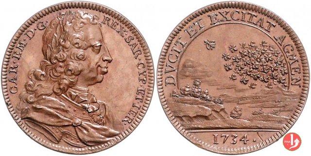 Battaglia di San Pietro e Guastalla 1734 1734