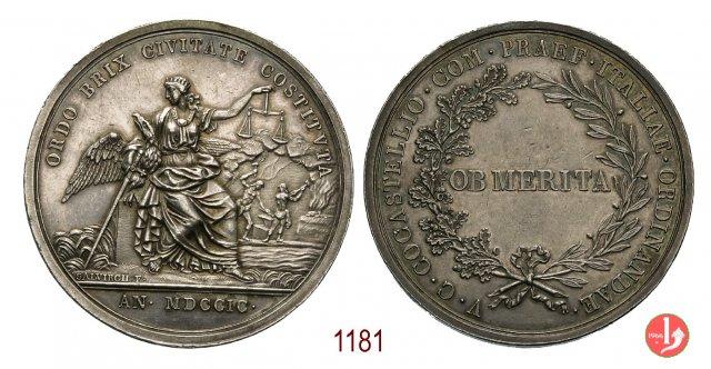 Cocastelli Luigi-Comm. Gen. Austriaco 1799 1799