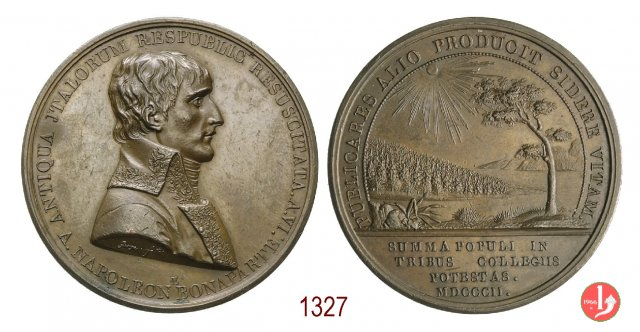 Collegi elettorali della Repubblica Italiana -B193 1802 (Parigi)