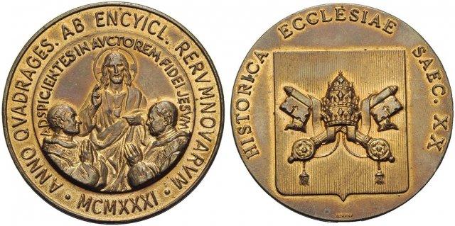 Historica Ecclesia - 40° Enciclica Rerum Nuvarum 1931 1931