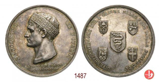 Incoronazione Re d'Italia-Zecca di Milano 1805 -B421 1805 (Milano)
