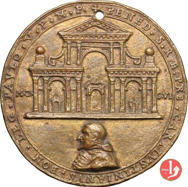 La chiesa di S. Paolo decollato in Bologna 1606