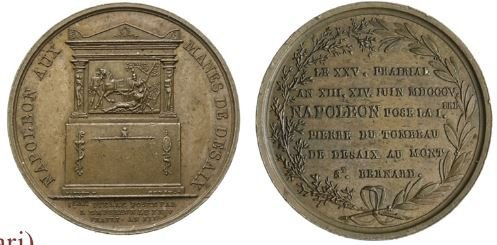 Monumento a Desaix 1805 -B427 1805 (Parigi)