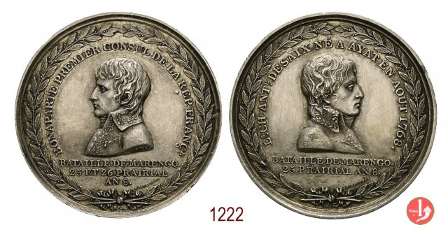 Morte di Desaix a Marengo 1800 -B38/44 1800