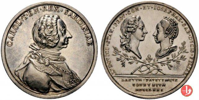 Nozze M.L. Giuseppina e Stanislao 1771-UdS29 1771 (Torino)