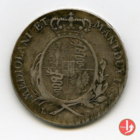 1 scudo 1785 (Milano)