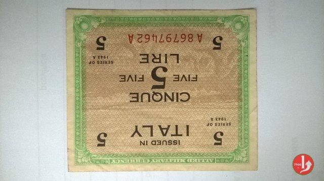 5 Lire 1943