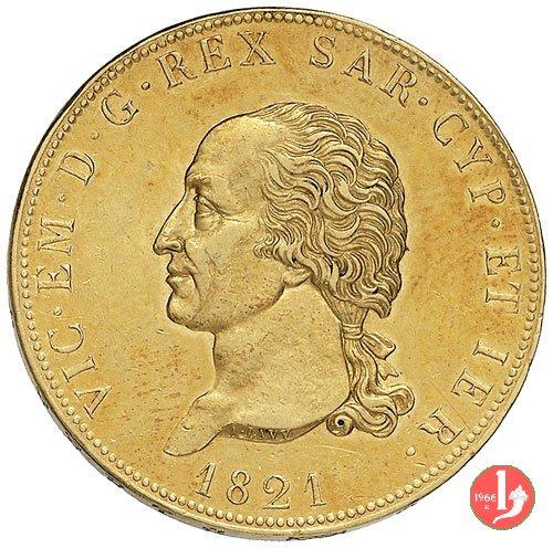 80 lire 1821 (Torino)