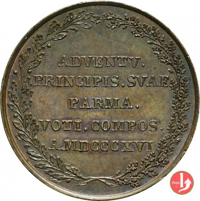 Ingresso di M. L. nel Ducato 1816 1816 (Parma)
