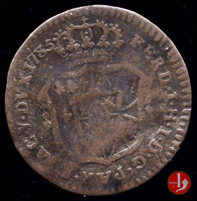 Mezza lira di Parma 1785 (Parma)