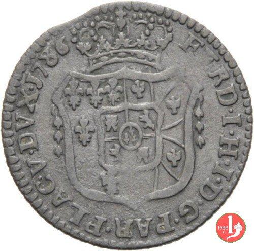 Mezza lira di Parma 1786 (Parma)