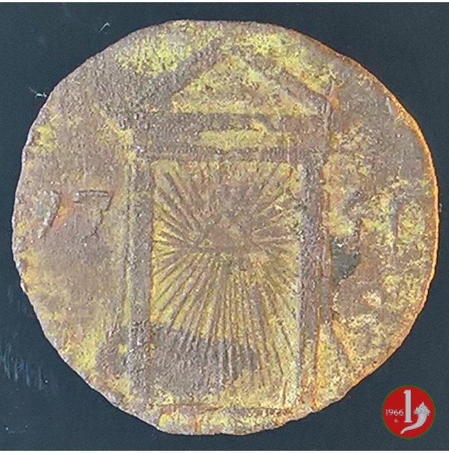 Quattrino GIUBILARE 1750 (Ravenna)