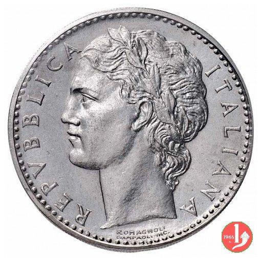 prova 100 lire 1950 in acmonital 1950 (Roma)