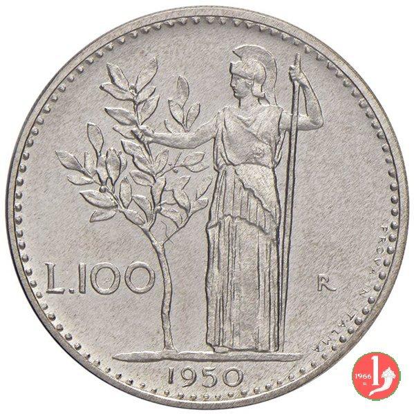 prova 100 lire 1950 in italma 1950 (Roma)