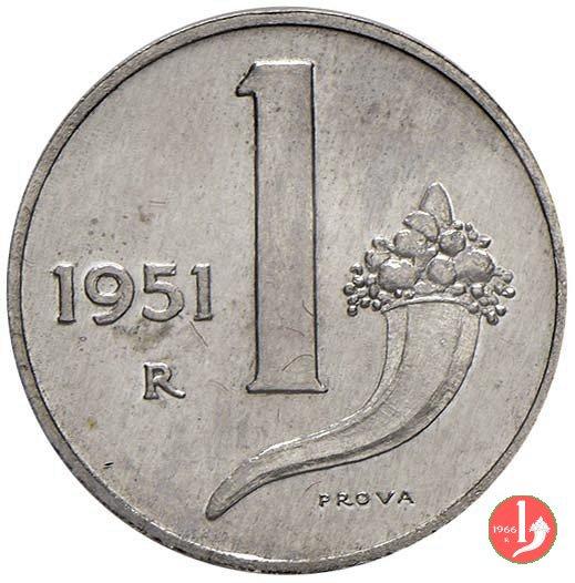 prova 1 lira 1951 1951 (Roma)