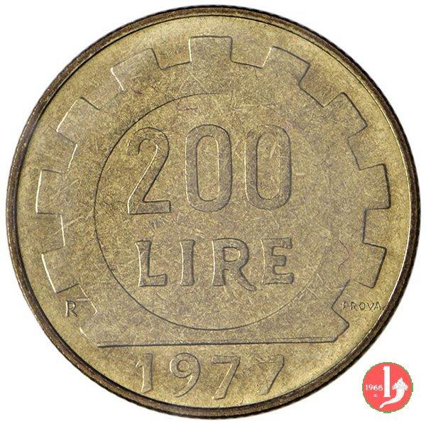 prova 200 lire 1977 1977 (Roma)