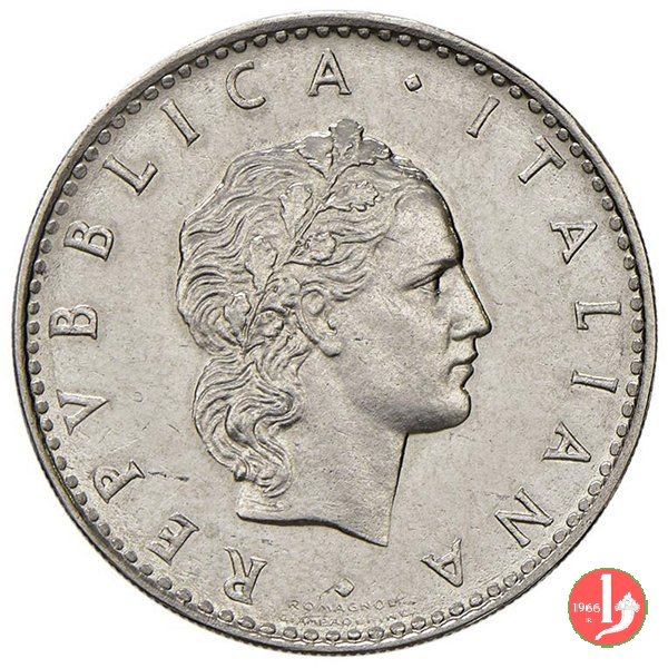 prova 50 lire 1950 in acmonital 1950 (Roma)