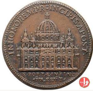 A . IX - Nuova facciata della Basilica di San Piet 1612