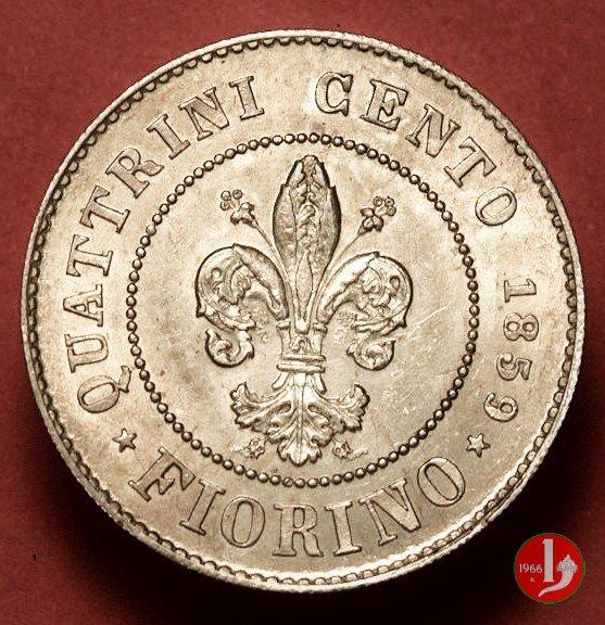 1 fiorino 1859 (Firenze)