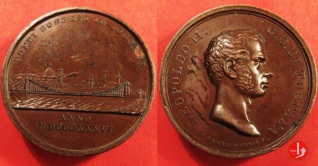 Leopoldo II -1836 Ponte sull'Arno 1836 (Firenze)