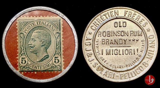 Solari Old Robinson Rum Brandy 1919-1923