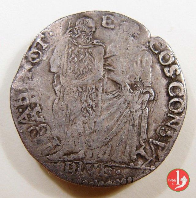 giulio I serie (senza data con DIVIS all'esergo e croce a sinistra) 1557-1564 (Firenze)