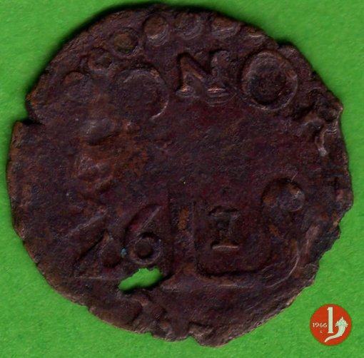 Quattrino 1661 tipo Lucca 1661 (Novellara)