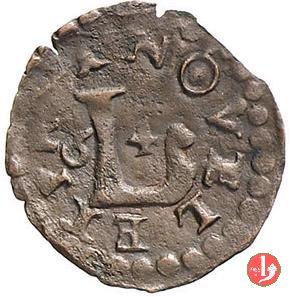 Quattrino 1664 tipo Lucca 1664 (Novellara)